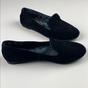 Lucky Brand Suede Loafer Flat